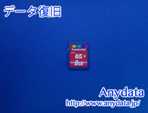 Transcend SDメモリーカード 8GB(Model NO:不明)