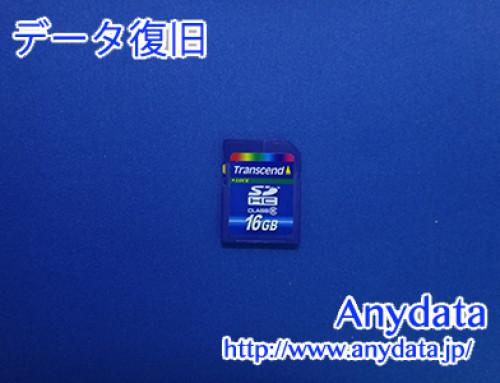 Transcend SDカード 16GB(Model NO:TS16GSDU1)