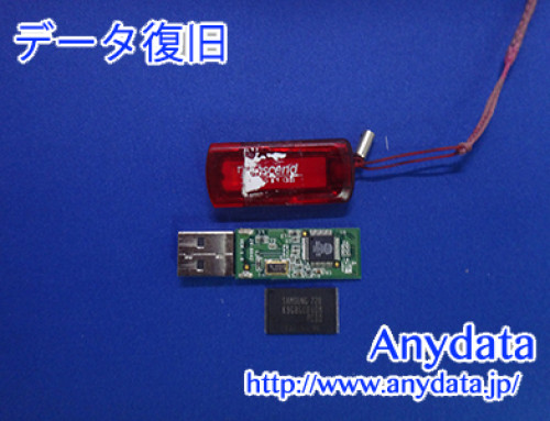 Transcend USBメモリー 1GB(Model NO: JFV35)