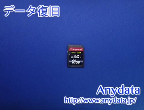 Transcend SDカード 16GB(Model NO:TS16GSDHC10)