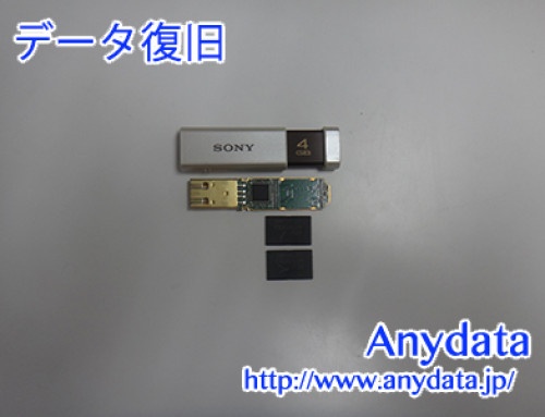 SONY USBメモリー 4GB(Model NO:USM4GLX)