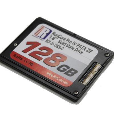 Runcore pro IV PATA ZIF 1.8inch SSD ドライブからのデータ復旧