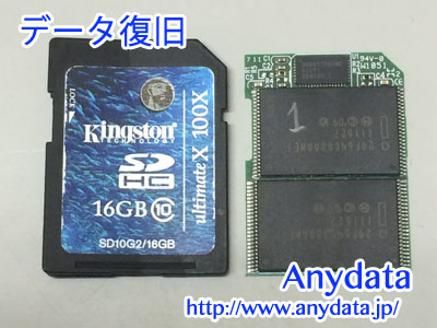 Kingston SDカード 16GB