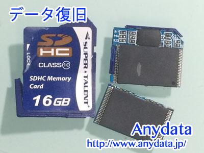 SUPERTALENT SDカード 16GB
