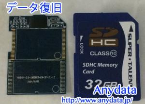 SUPER TALENT製SDカード 32GB