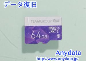 TEAM microSDカード 64GB