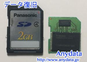Panasonic SDカード 2GB
