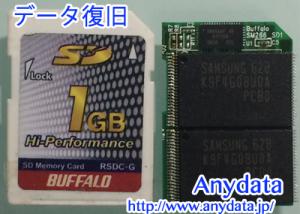 BUFFALO SDカード 1GB
