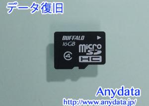 BUFFALO microSDカード 16GB
