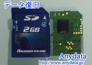 ハギワラシスコム SDカード 2GB