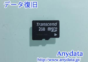 Transcend microSDカード 2GB