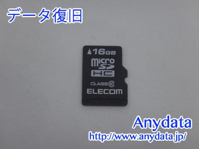ELECOM MicroSD 16GB(Model NO:MF-MSD016GC10R)
