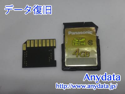 Panasonic SDメモリーカード 4GB(Model NO:RP-SDWA04GJK)