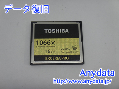 TOSHIBA CFメモリーカード 16GB(Model NO:CF-AX016G)
