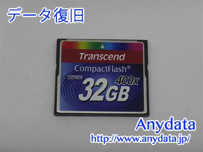 Transcend CFカード 32GB(Model NO:TS32GCF400)