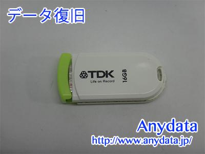 TDK USBメモリー 16GB(Model NO:UFD16GE-PCGRA)