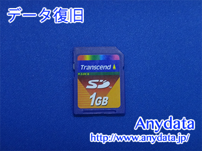 Transcend SDメモリーカード 1GB(Model NO:TS1GSDC)