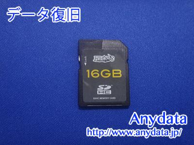 HIDISC SDメモリーカード 16GB(Model NO:不明)