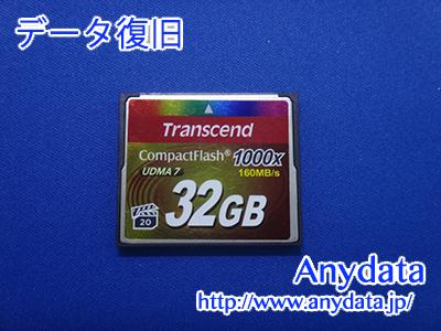 Transcend CFメモリーカード 32GB(Model NO:TS32GCF1000)