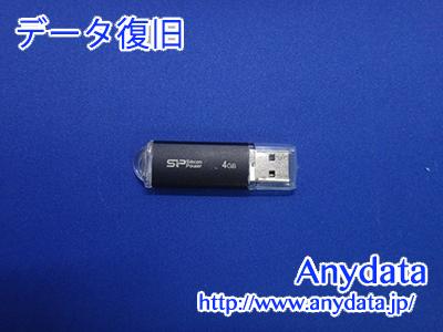 Silicon Power USBメモリー 4GB(Model NO:SPJ004GU2U02K)