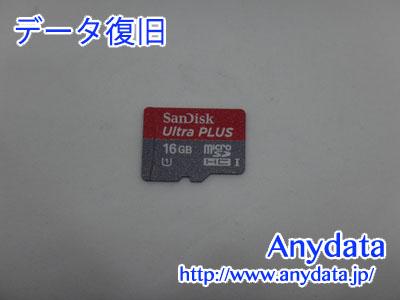 Sandisk MicroSDカード 16GB(Model NO:SDSDQUL-016G-J35A)