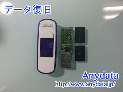 Lexar USBメモリー 16GB(Model NO:LJDS75-16GABAP)
