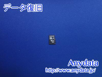 ELECOM MicroSDカード 16GB(Model NO:MF-MS016GU11LRA)