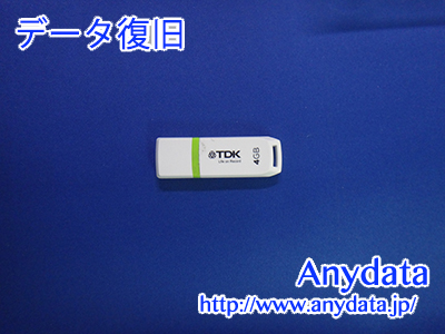 TDK USBメモリー 4GB(Model NO:UFD4GE)