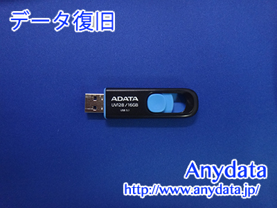 ADATA USBメモリー 16GB(Model NO:AUV128-16G-RBE)