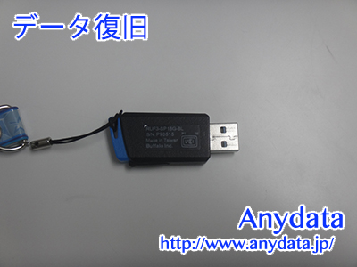 Buffalo USBメモリー 16GB(Model NO:RUF3-SP16G-BL)