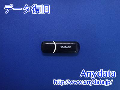ELECOM USBメモリー 16GB(Model NO:MF-HCBU216GBK)
