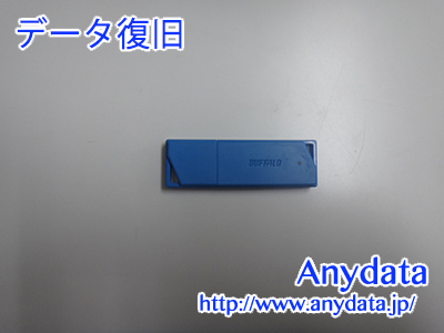 Buffalo USBメモリー 64GB(Model NO:RUF3-K64GB-BL)