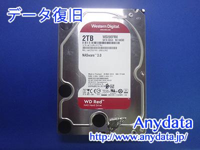 WD HDD 2TB(Model NO:LHD-WD20EFRX/2TB)