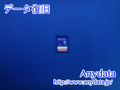 Sandisk SDカード 16GB(Model NO:SDSDB-016G-B35)