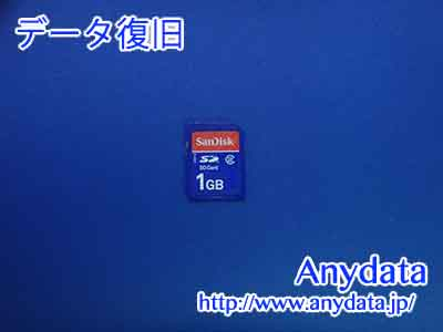 Sandisk SDメモリー 1GB(Model NO:SDSDB-1024-J95)
