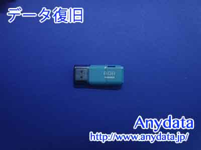 TOSHIBA USBメモリー 8GB(Model NO:UHYBS-008G)