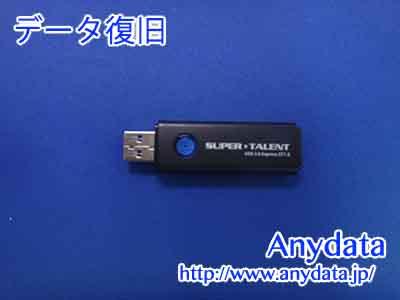 SUPERTALENT USBメモリー 64GB(Model NO:ST3U64S12K)