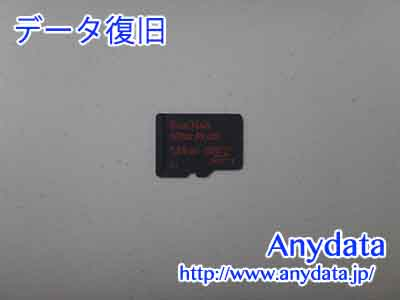 Sandisk MicroSDカード 128GB(Model NO:SDSDQUP-128G-J35A)